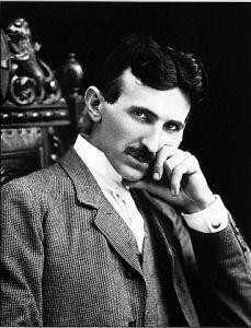 Lo scienziato Nikola Tesla