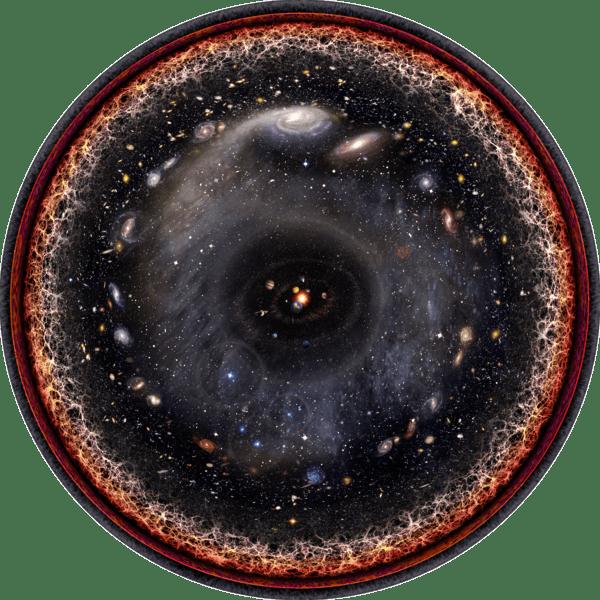 l'universo come l'occhio di Dio