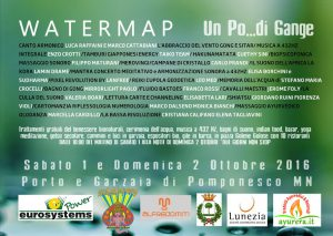 """Enzo Crotti al festival """"Watermap"""" di Pomponesco MN"""