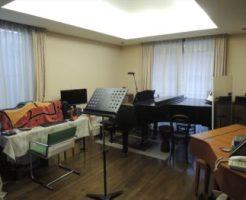 アトリエムジカCのスタジオ風景
