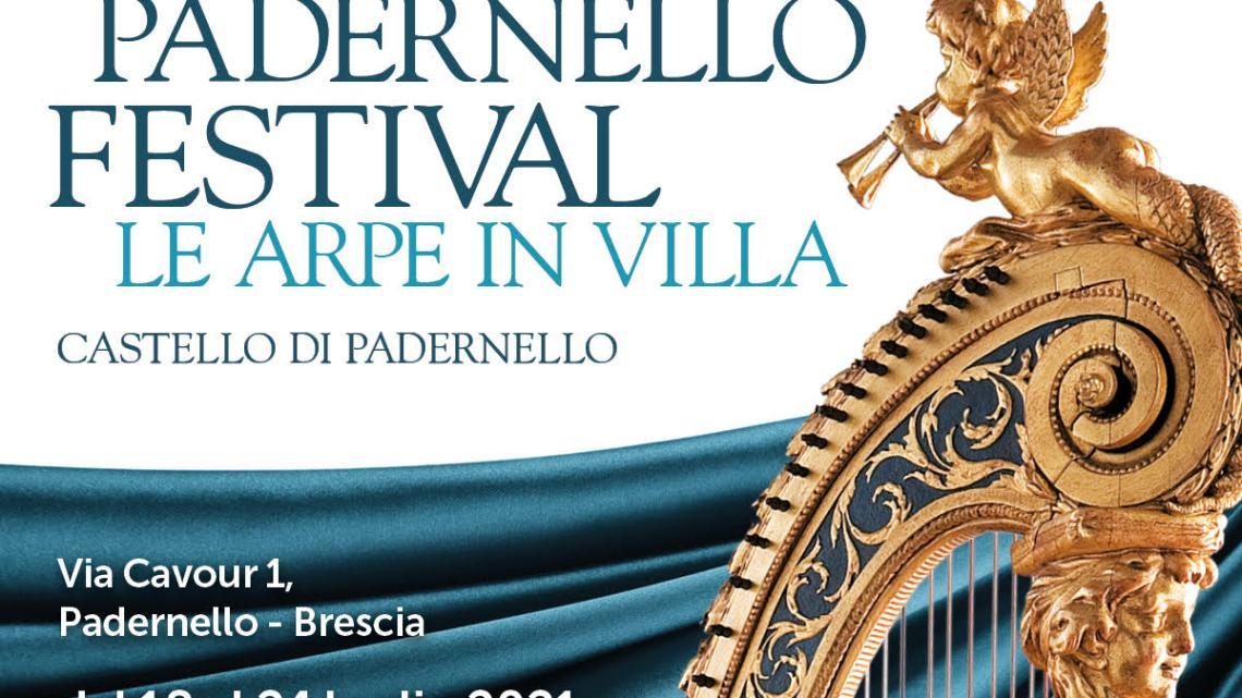 """Padernello Festival """"Le arpe in Villa"""" 2021  Programma dei corsi"""