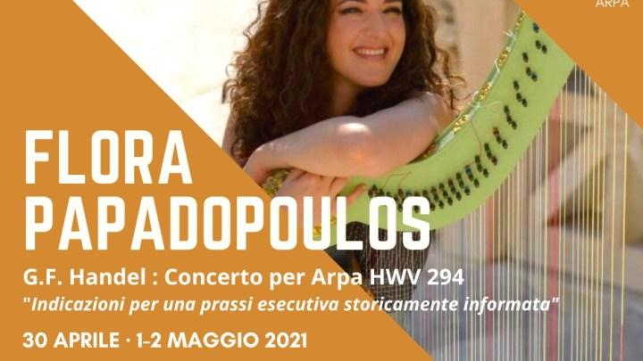 G.F. Handel – Concerto per Arpa HWV 294