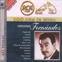 FERNANDO FERNANDEZ – 100 ANOS DE MUSICA (2 CDS)