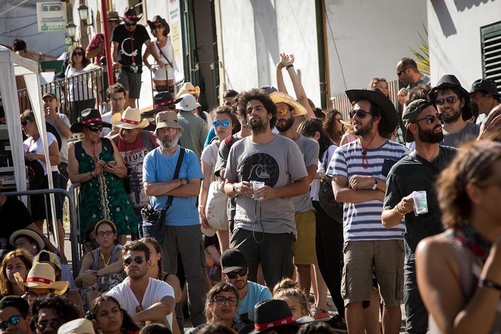 BONS SONS 2017 - Público no concerto de Marco Luz no Palco Giacometti. Foto: Carlos Manuel Martins