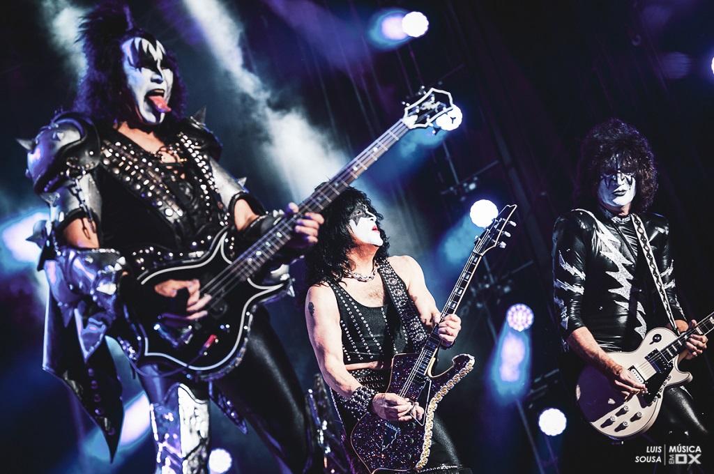 20180710 - Concerto - Legends Of Rock - Kiss + Megadeth @ Estádio Municipal de Oeiras