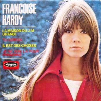 Musica  Memoria  Franoise Hardy  La maison ou jai grandi Il ragazzo della Via Gluck