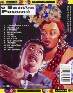 Contracapa do disco 'O Samba Poconé' do Skank (1996)