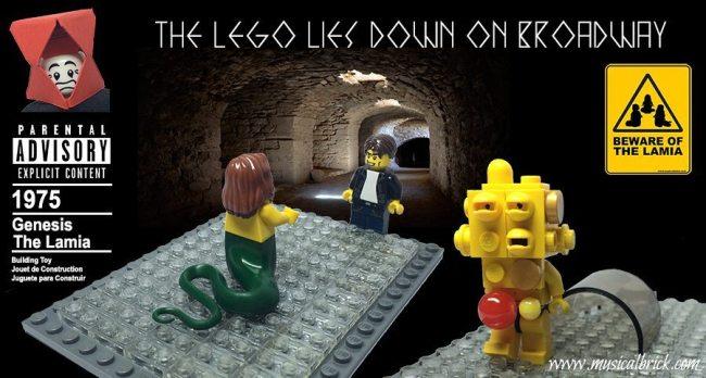 Genesis The Lamia Lego