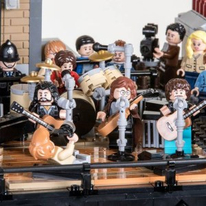 The Beatles '3 Savile Row' in LEGO