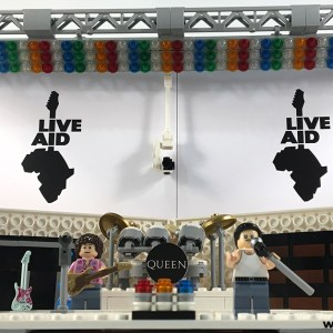 Lego Queen Live Aid Stage