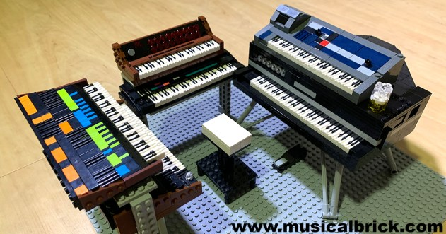 Genesis Tony Banks Live Rig 1986 in LEGO
