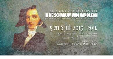 Koninklijke Harmonie Eendracht Aalbeke brengt In de schaduw van Napoleon