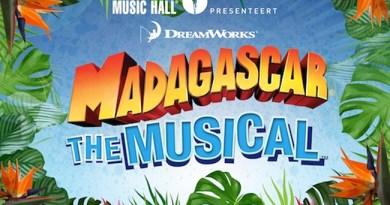 Filmsensatie Madagascar wordt beestige, Nederlandstalige feelgood musical