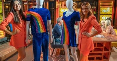 Splinternieuwe versie van de iconische regenboog-outfit van K3 onthuld