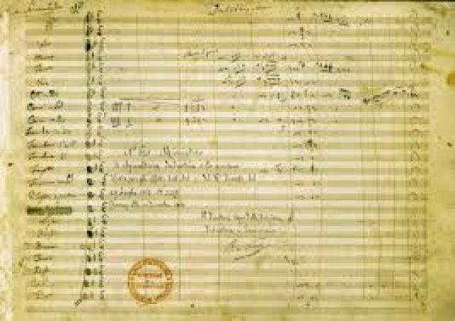 partitura bellini