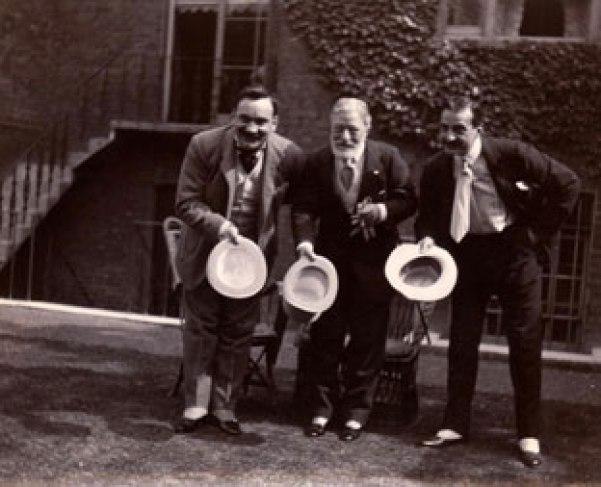 Enrico Caruso, Tosti e Antonio Scotti - londra 1905