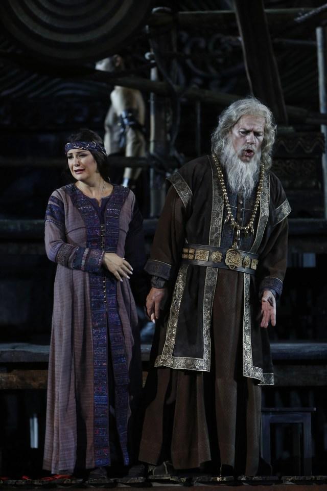 Elena Rossi (Liù) e Carlo Cigni (Timur)