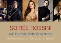 FESTIVAL DELLA VALLE D'ITRIA: SOIRÉE ROSSINI