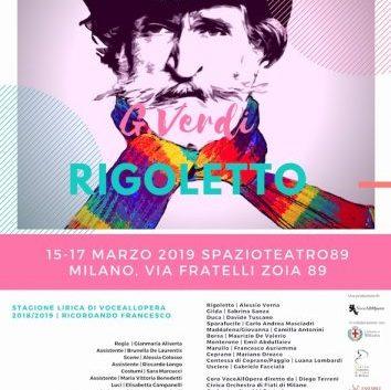 Locandina Rigoletto VoceAllOpera SPAZIO TEATRO 89