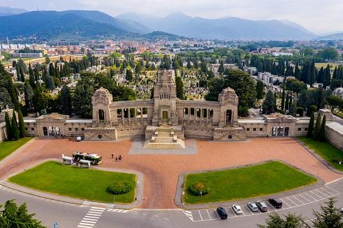 Bergamo- Cimitero monumentale- Foto Rota