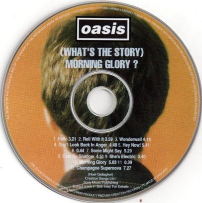 CD de What's the story, de Oasis