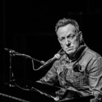 Bruce Springsteen, al piano