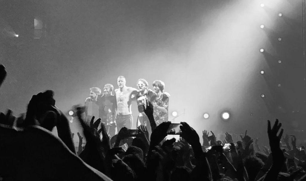 final del concierto