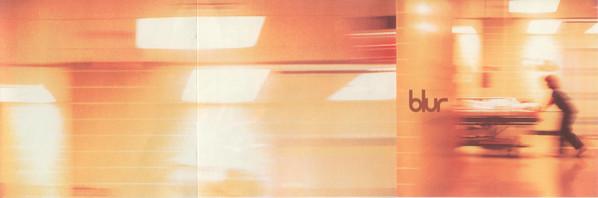 Carátula del disco homónimo de Blur