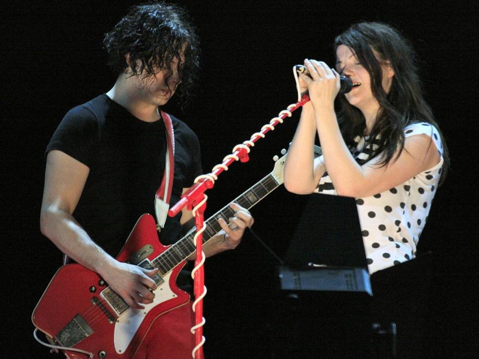 The White Stripes en concierto