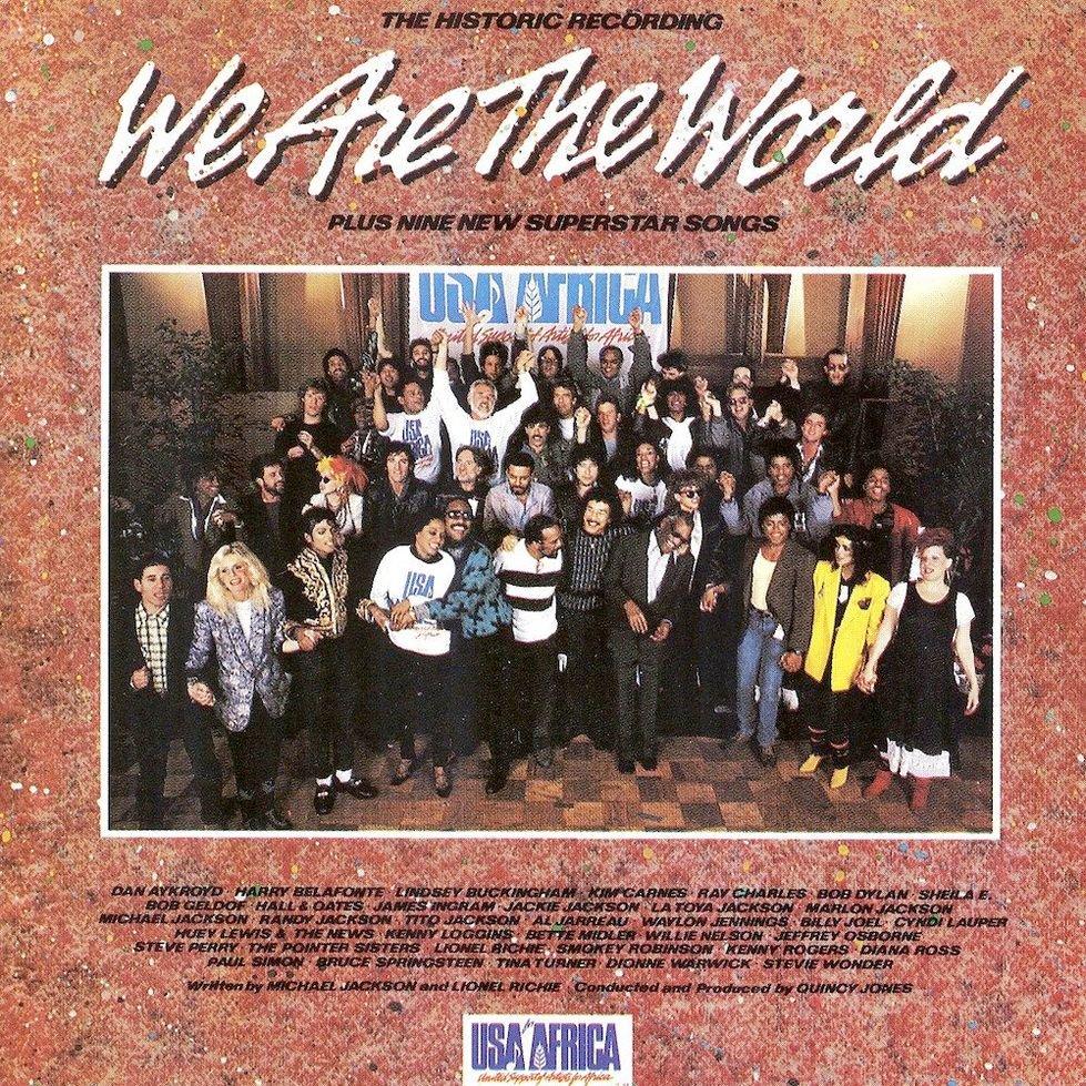 Caratula de We are the world