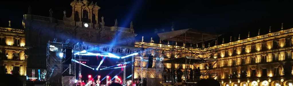 Imagen del concierto de Morat en Salamanca