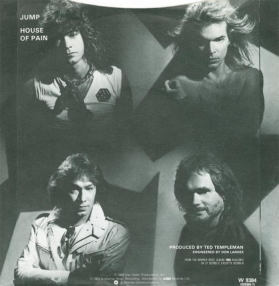 Interior del sencillo Jump, de Van Halen