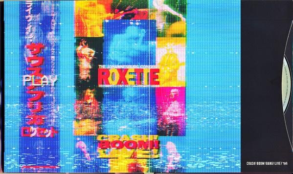 Carátula del directo de Roxette Crash! Boom! Live!
