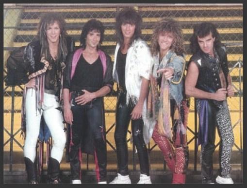 Bon Jovi, durante la sesión de grabación del vídeo