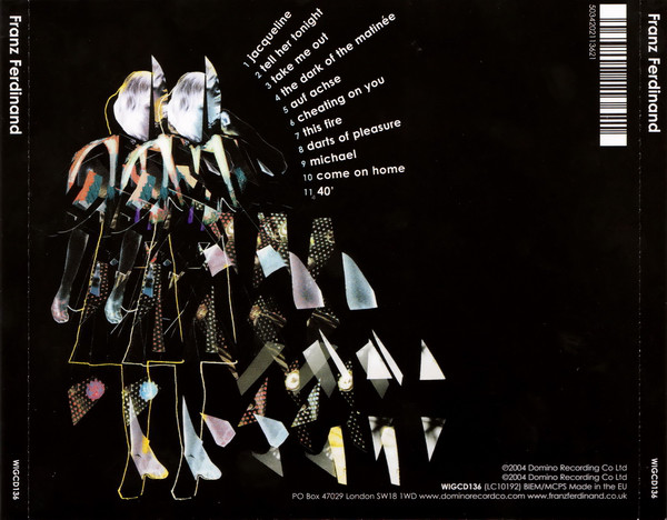 Contraportada del álbum