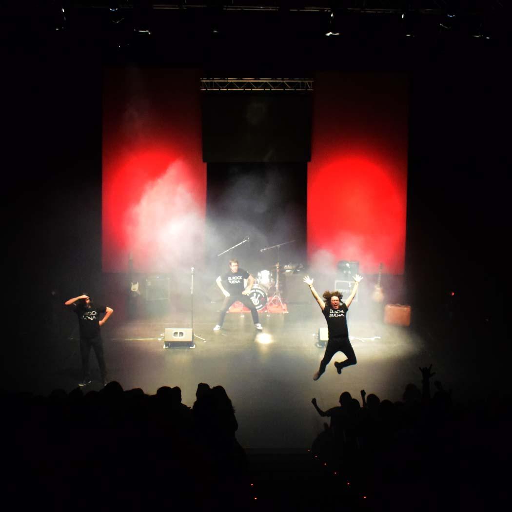 El rock suena en familia… y en Madrid, con éxito