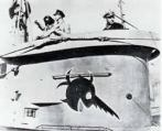 El submarino U96, con el pez sierra sonriente