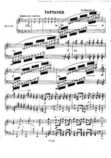 Fantasia on Theme from 'Charles VI' by Halevy, Op.37 by S