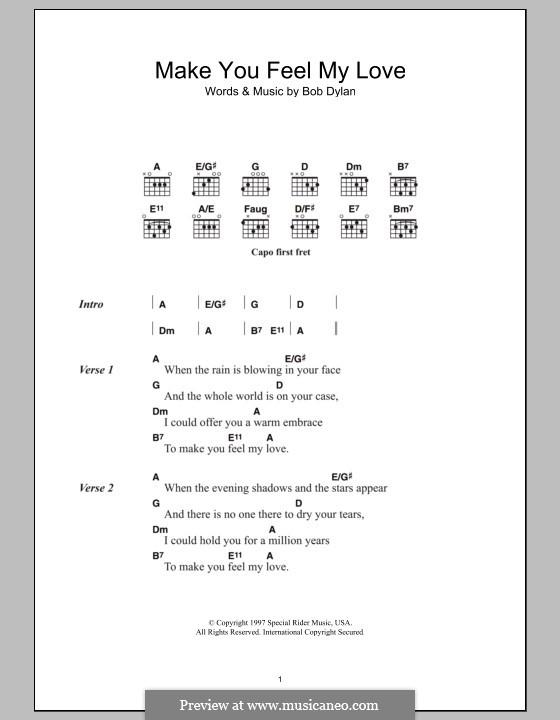 Adele Make You Feel My Love Chords Bb - Adele Hello Someone Like You