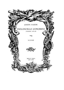 Concerto for Cello and Orchestra No.2 in D Major, Hob.VIIb