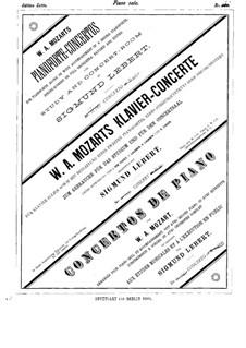 Concerto for Piano and Orchestra No.9 in E Flat Major