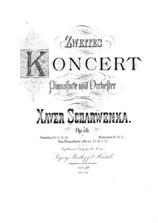 Piano Concerto No.2 in C Minor, Op.56 by X. Scharwenka on