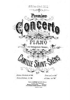 Concerto for Piano and Orchestra No.1 in D Major, Op.17 by