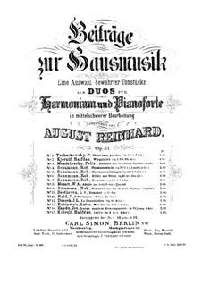 Souvenir de Hapsal, TH 125 Op.2 by P. Tchaikovsky on MusicaNeo