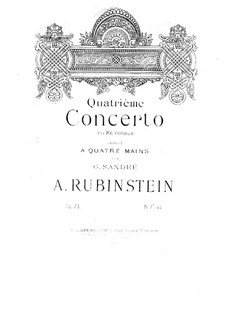 Concerto for Piano and Orchestra No.4 in D Minor, Op.70 by