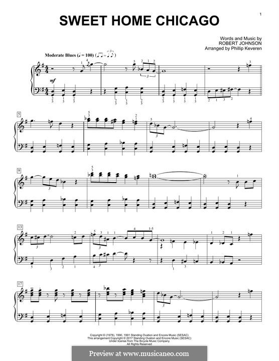 Display & download higher quality music. Sweet Home Chicago Eric Clapton By R L Johnson On Musicaneo