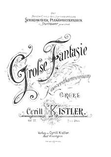 Grand Fantasia for Harmonium (or Organ), Op.77 by C