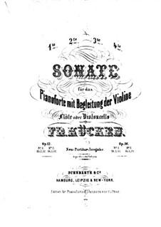 Sonata for Violin (or Flute, or Cello) and Piano No.2, Op