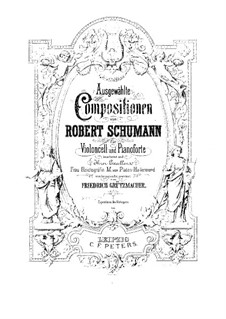 Twelve Pieces for Piano Four Hands, Op.85 by R. Schumann