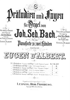 Fantasia and Fugue No.7 in C Minor, BWV 537 by J.S. Bach